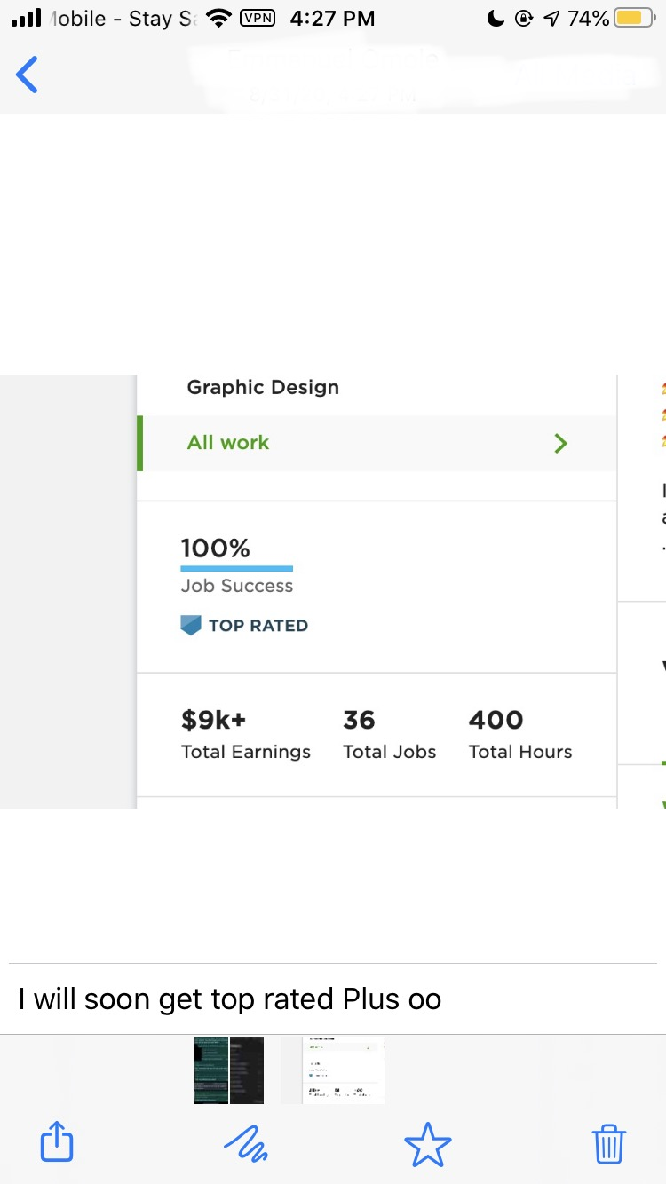 Over $7000 made in FReelancing